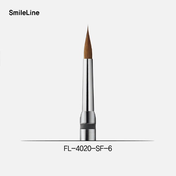 Kolinsky brush tip #6 short ferrule + FL4000 (플렉스 컨넥터 팁)