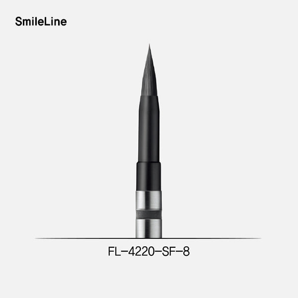 N.era brush tip #8 short ferrule + FL4000 (플렉스 컨넥터 팁)